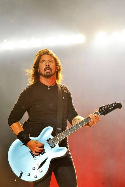 Foo Fighters perform at Reading Festival 2012
