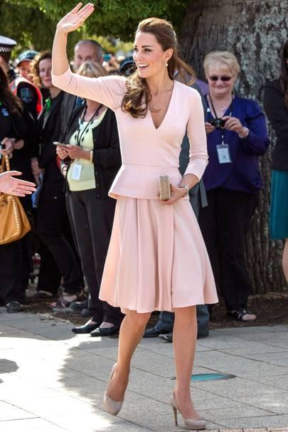 Duchess of Cambridge's nude LK Bennetts