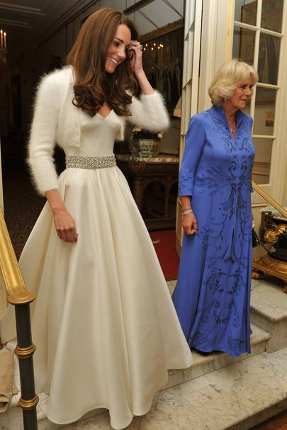 kate middleton second wedding dress glamour uk kate middleton second wedding dress