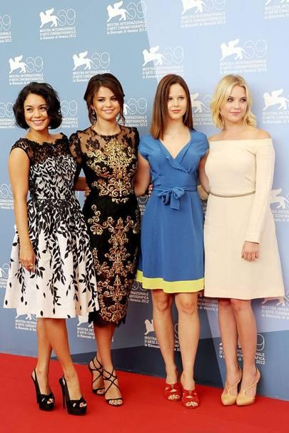 Vanessa Hudgens, Selena Gomez, Rachel Korine & Ashley Benson