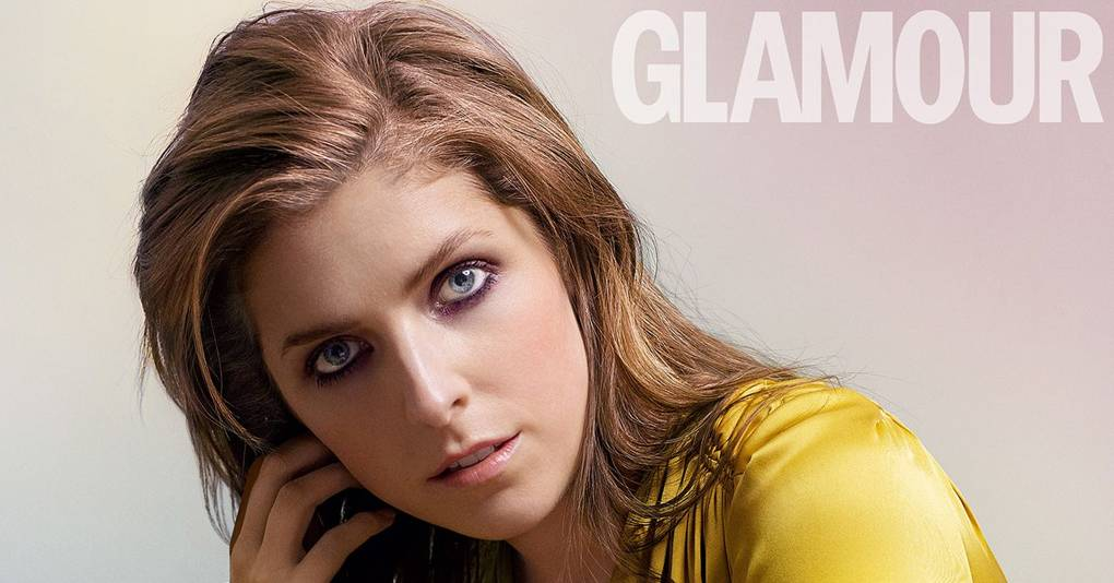 Anna Kendrick GLAMOUR 2017 Cover
