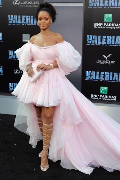 80bdf2ba8 Rihanna pink tulle Giambattista Valli dress | Glamour UK