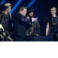 James Corden, Prince and 3RDEYEGIRL