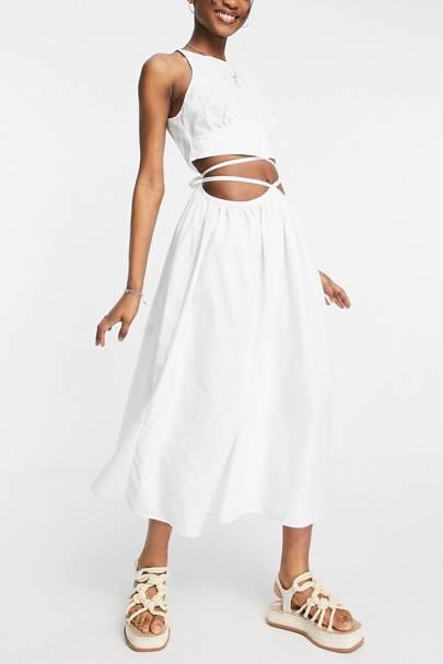 Cut-out ASOS dress