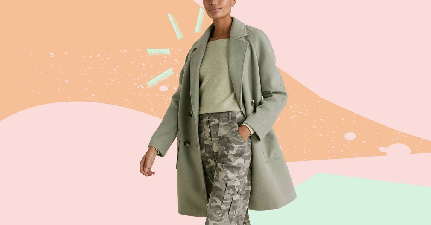 This M&S coat has sold out everywhere (and if you can get your hands on it, it will last you through til Spring)