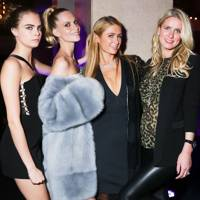 Cara & Poppy Delevingne, Paris & Nicky Hilton