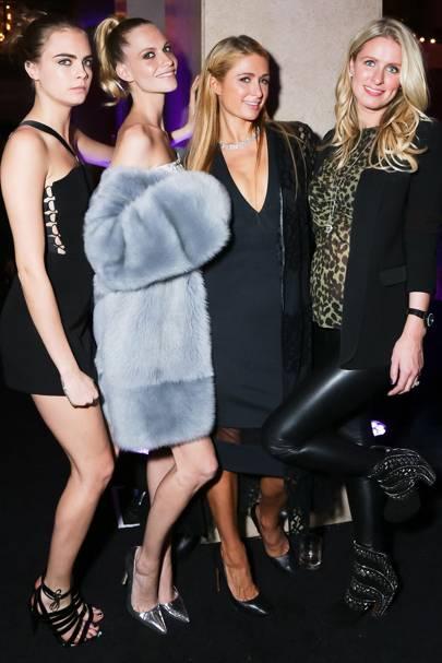Cara & Poppy Delevingne, Paris & Nicky Hilton