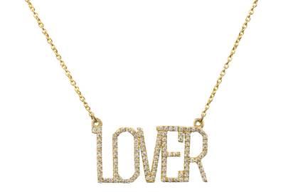LOVER Diamond Necklace by Shirin Uma