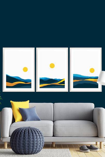 Best wall art: bold and colourful