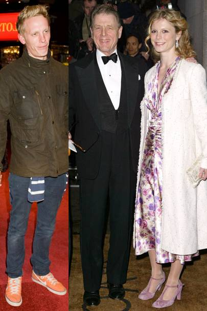 Emilia Fox & Lawrence Fox & Edward Fox