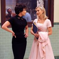 Julianne Hough and Vanessa Hudgens in Grease Live