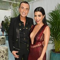 Julien Macdonald & Kourtney Kardashian