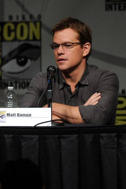 Matt Damon at Comic-Con 2012