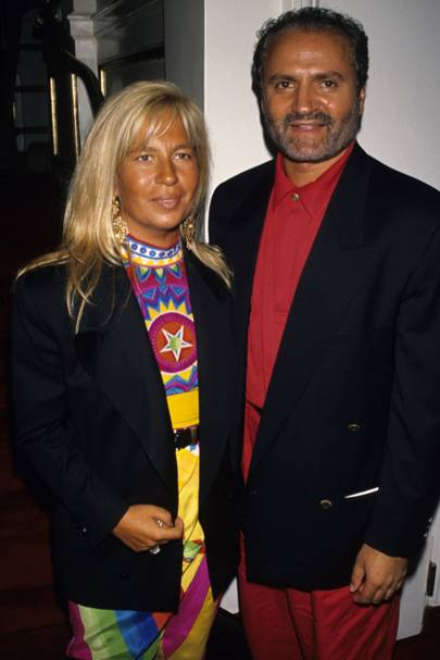 On her late brother Gianni Versace: