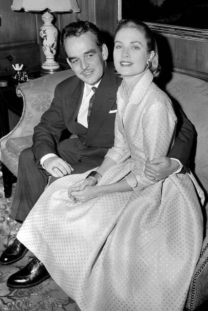 Grace Kelly & Prince Rainier III