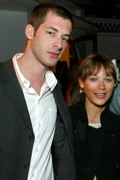 Mark Ronson and Rashida Jones