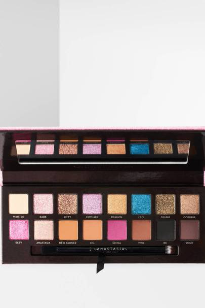 The eyeshadow palette