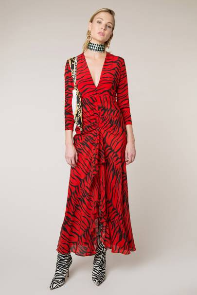 e2b799f02320 Rixo may be loved for its prints, but this 'Adriana' dress, which is  exclusive to Net A Porter, proves that designers Henrietta Rix and Orlagh  McCloskey are ...