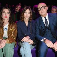 Charlotte Casiraghi, Alexa Chung and Marco Bizzarri