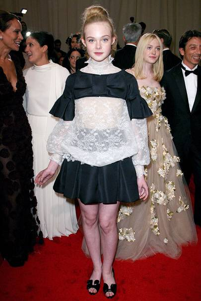All Monochrome - Elle Fanning