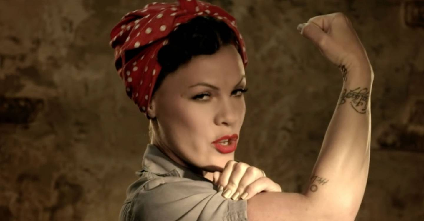 The Best Pink Music Videos Ever | Glamour UK