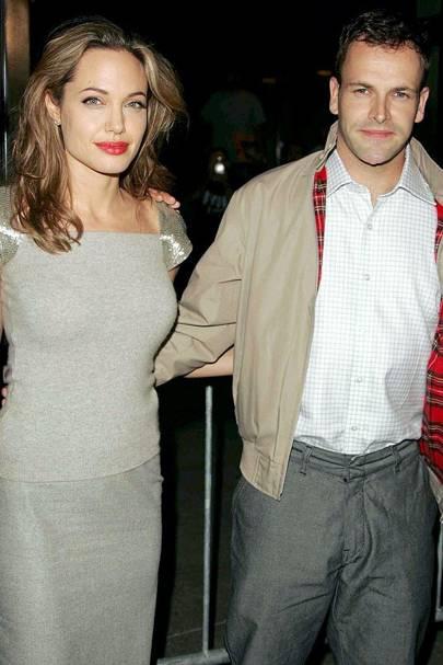 Angelina Jolie & Johnny Lee Miller