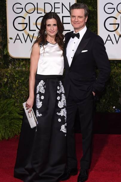 Colin Firth & Livia Firth