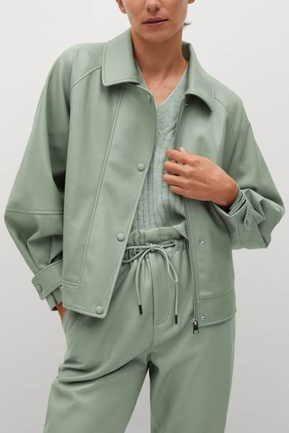 TRANSITIONAL SPRING JACKETS 2021: FAUX LEATHER