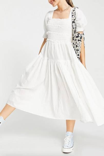 White ASOS dresses