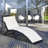 Best folding sun loungers UK: rattan sun lounger