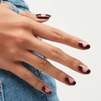 Semi-circle nails