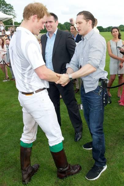 Prince Harry & Tom Hardy