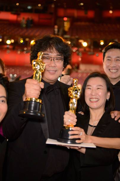 Parasite won the Academy Award for Best Film
