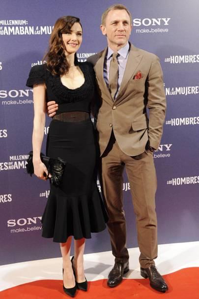 Daniel Craig & Rachel Weitz