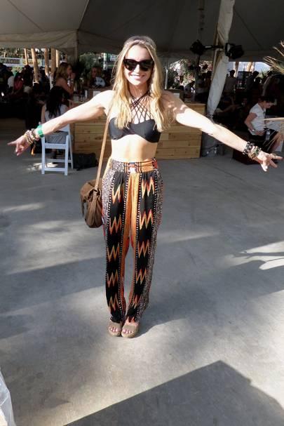 Alison Stoner, Pharmaceutical Sales Rep, Coachella Festival