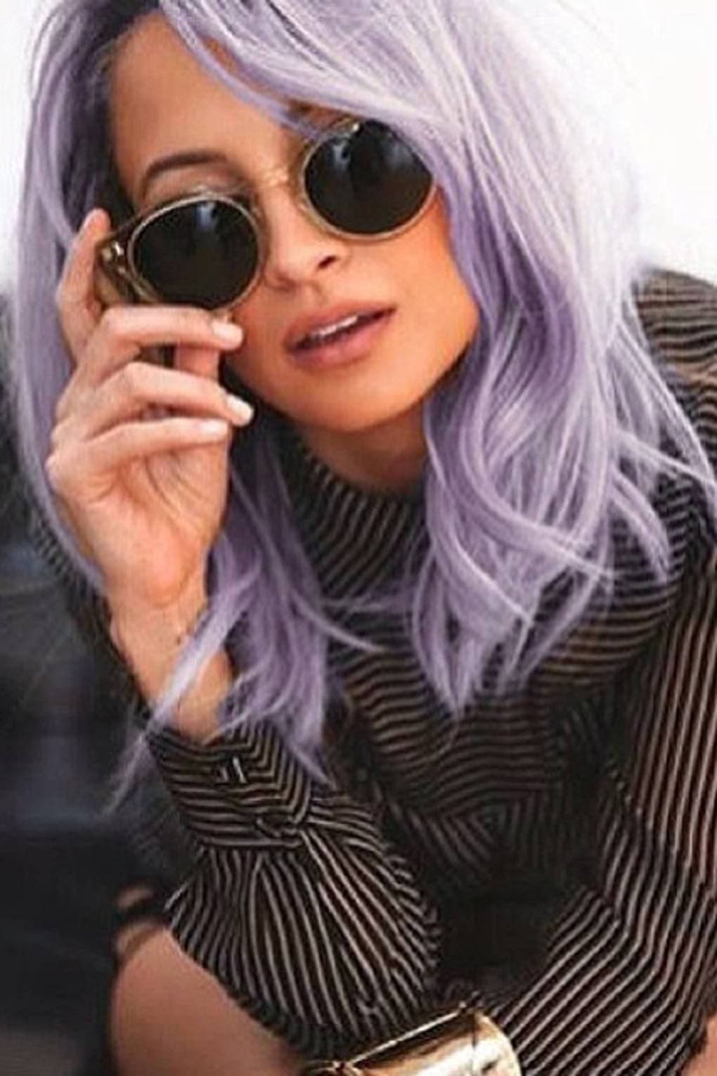 Richie nicole lilac hair photos