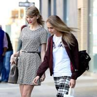 Taylor Swift & Cara Delevingne
