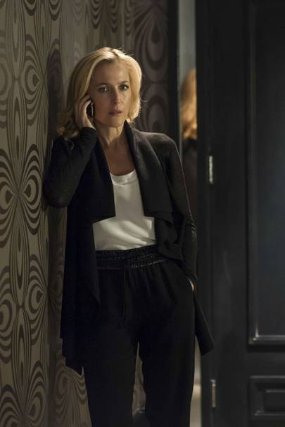 Gillian Anderson as Stella Gibson - The Fall