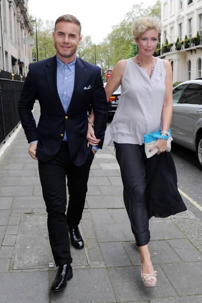 Gary Barlow & Dawn Andrews