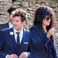 Alison Mosshart at the wedding of Kate Moss and Jamie Hince