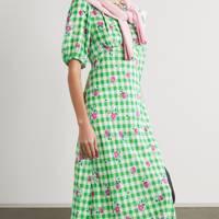 Best Gingham Floral Dress - Rixo