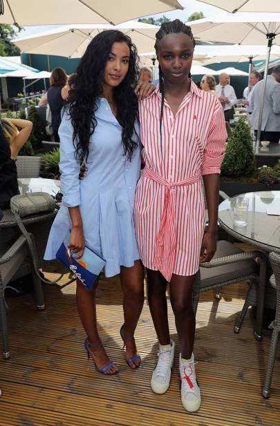 Maya Jama & Leomie Anderson