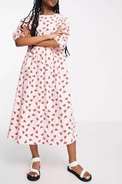 ASOS printed dress