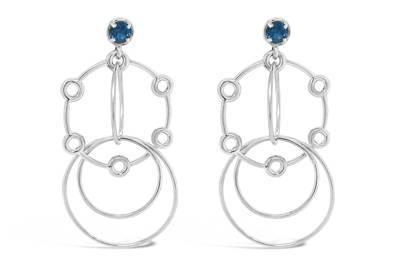 Affinity Hoop Earrings by Seneca Jewelry