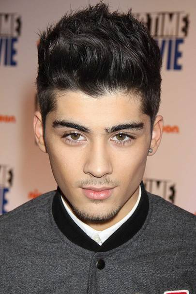 Zayn Malik Hair Hairstyles Blonde Floppy Shaved Pink Glamour Uk