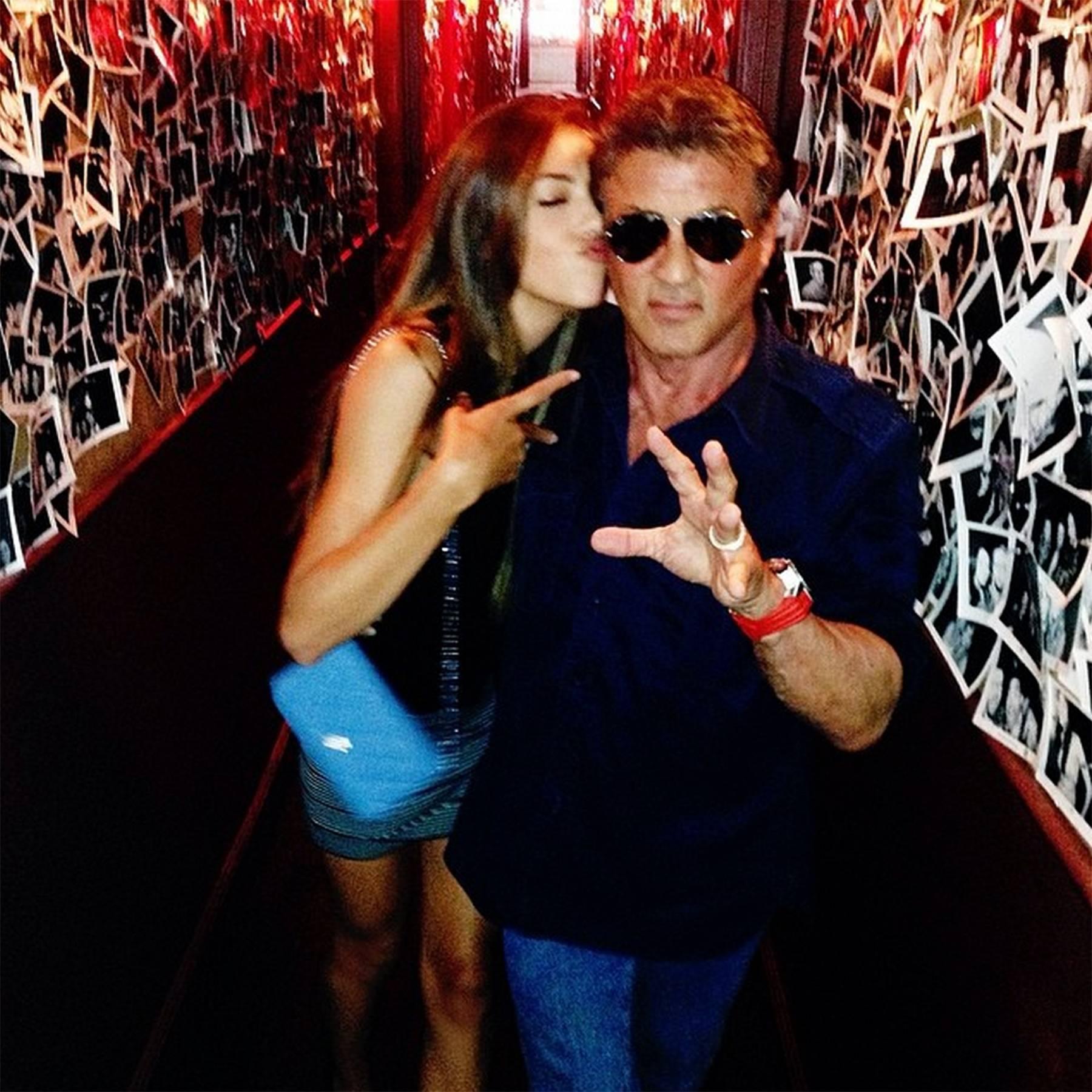 81d5b987 Meet Sistine Rose Stallone daughter of Sylvester Stallone | Glamour UK