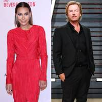 Naya Riviera and David Spade