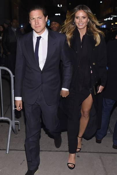 September: Heidi Klum and Vito Schnabel