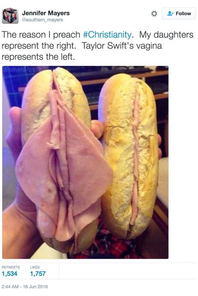 Ham Sandwich Tweet About Taylor Swift Goes Viral Glamour Uk