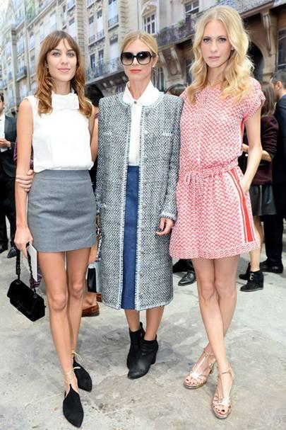 Alexa Chung, Laura Bailey & Poppy Delevingne